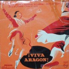 Discos de vinilo: CUADRO DE JOTAS DE LA CASA DE ARAGON DE MADRID,JOTAS DE PICADILLO,JOTAS DE ESTILO,JOTAS DE ALBACETE,. Lote 4975140