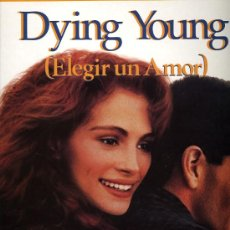 Discos de vinilo: BSO DYING YOUNG (ELEGIR UN AMOR) - FEATURING BY JAMES NEWTON HOWARD - PERFORMED BY KENNY G. - 1991. Lote 27016778