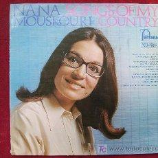 Discos de vinilo: NANA MOUSKOURI - SONGS OF MY COUNTRY. Lote 5010337