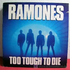 Discos de vinilo: RAMONES ( TOO TOUGH TO DIE ) USA-1984 LP33. Lote 5014282