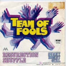Discos de vinilo: TEAM OF FOOLS / RESURECTION SHUFFLE / SUNNY HONEY GIRL (SINGLE DE 1971). Lote 5019327