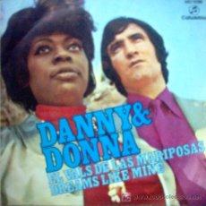 Discos de vinilo: DANNY & DONNA 1971. Lote 25032869
