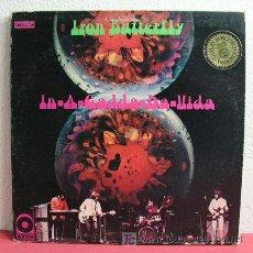 Discos de vinilo: IRON BUTTERFLY ( IN-A-GADDA-DA-VIDA ) USA-1968 LP33. Lote 5039949