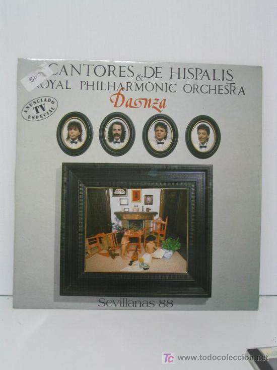 CANTORES DE HISPALIS Y ROYAL PHILHARMONIC ORCHESTRA (Música - Discos - LP Vinilo - Flamenco, Canción española y Cuplé)