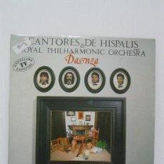 Discos de vinilo: CANTORES DE HISPALIS Y ROYAL PHILHARMONIC ORCHESTRA. Lote 19754102