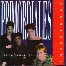 Discos de vinilo: LOS PRIMORDIALES - BLACK IS BLACK - HOY ES DOMINGO / INFECTADAS / YELLOW FELLOW - EP - 1989. Lote 13826516