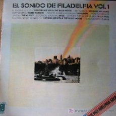 Discos de vinilo: EL SONIDO DE FILADELFIA VOL 1. H. MERVIN-J. WILLIAMS-THREE DEGREES-INTDRUDERS-THE O'JAYS-MFSB-B.PAUL. Lote 26989182