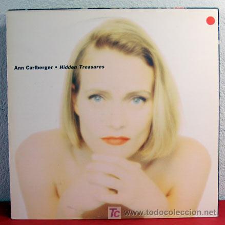 ANN CARLBERGER ( HIDDEN TREASURES ) 1990 LP33 (Música - Discos - LP Vinilo - Pop - Rock Extranjero de los 90 a la actualidad)