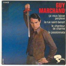 Discos de vinilo: GUY MARCHAND - EP- RIVIERA,FRANCES- 4 TEMAS. Lote 24377027