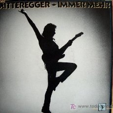 Discos de vinilo: LP - HERWIG MITTEREGGER - IMMER MEHR - ORIGINAL ALEMAN, CBS 1985. Lote 5077387