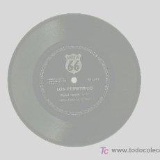 Discos de vinilo: LOS PRIMITIVOS ' FEED BACK ' ( LETRA Y MÚSICA S.RAY) FLEXIDISC RUTA 66. Lote 26896525