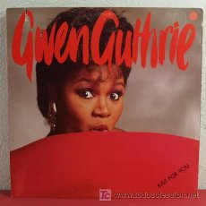 Discos de vinilo: GWEN GUTHRIE ( JUST FOR YOU ) NEW YORK-1985 LP33 ISLAND RECORDS. Lote 5084902