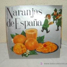 Discos de vinilo: DISCO PUBLICITARIO DE NARANJAS DE ESPAÑA,AÑO 1967,33 R.P.M.. Lote 26694490