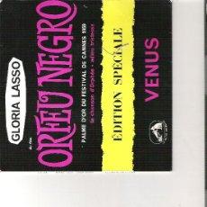 Discos de vinilo: GLORIA LASSO /ORFEO NEGRO. Lote 14030309