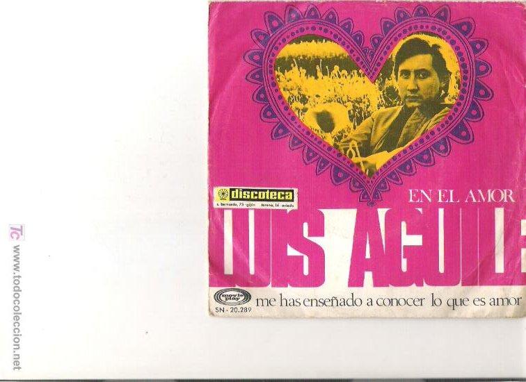 LUIS AGUILE (Música - Discos - LP Vinilo - Grupos y Solistas de latinoamérica)