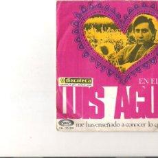 Discos de vinilo: LUIS AGUILE. Lote 5107303