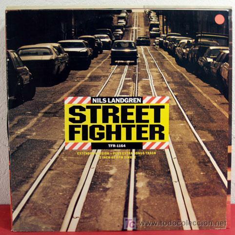 NILS LANDGREN ( STREET FIGHTER - THE HIT - AMSTERDAM BLUE ) 1984 MAXI45 (Música - Discos de Vinilo - Maxi Singles - Jazz, Jazz-Rock, Blues y R&B)
