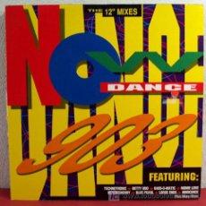 Discos de vinilo: NOW DANCE 903 'TECHNOTRONIC, BETTY BOO, MONIE LOVE, INNOCENCE...' VIRGIN-1990 LP33 DOBLE. Lote 5107977