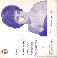 Discos de vinilo: MARIA DEL MAR. Lote 11015806
