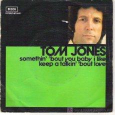 Discos de vinilo: TOM JONES. Lote 6013672