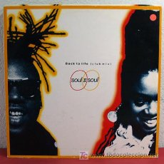 Discos de vinilo: SOUL II SOUL ( BACK TO LIFE ) VIRGIN-1989 LP33. Lote 5118523
