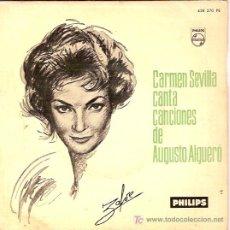 Discos de vinilo: CARMEN SEVILLA EP SELLO PHILIPS. Lote 5119453