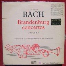 Discos de vinilo: SAGA - BACH - BRANDENBURGO CONCIERTOS - NEWSTONE. Lote 5121389