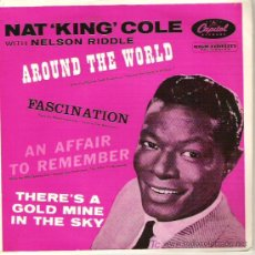 Discos de vinilo: NAT KING COLE - ARAUND THE WORL / FASCINATION / AN AFFAIR TO REMENBER. Lote 5122937
