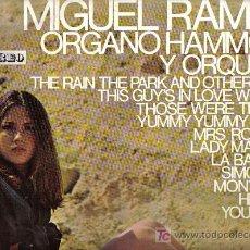 Discos de vinilo - lp MIGUEL RAMOS - ORGANO HAMMOND Y ORQUESTA - 22712468