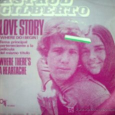 Discos de vinilo: LOVE STORY 1971. Lote 25920963