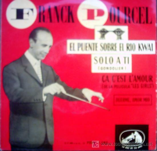FRANCK POURCEL (Música - Discos - Singles Vinilo - Canción Francesa e Italiana)