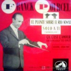 Discos de vinilo: FRANCK POURCEL. Lote 26817939