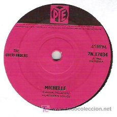 Discos de vinilo: THE OVERLANDES - MICHELLE / CRADLE OF LOVE - FREAKBEAT. Lote 6049619