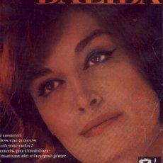Discos de vinilo: DALIDA DISCO DE 25 CM 10 PULGADA BARCLAY 80250 STANDAR FRANCE VER FOTO ADICIONAL. Lote 16627500