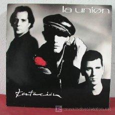 Discos de vinilo: LA UNION ( TENTACION ) GERMANY-1990 LP33. Lote 5160833
