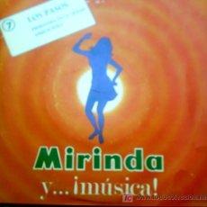 Discos de vinilo: MIRINDA - LOS PASOS - PRIMERA VEZ EN LA CIUDAD - ANOUSCHTKA. Lote 25032965