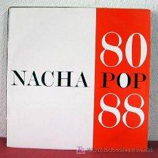 Dischi in vinile: NACHA POP ' NACHA POP 80 /88 ' MADRID-1988 LP33 DOBLE. Lote 5167108