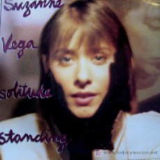 Discos de vinilo: SUZANNE VEGA. SOLITUDE STANDING LP 33 RPM AM RECORDS 1987. Lote 26888762