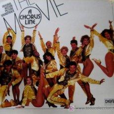 Discos de vinilo: BSO A CHORUS LINE. MARVIN HAMLISCH. LP 33 RPM CASABLANCA 1985. .. Lote 26401515
