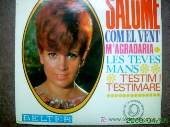 SALOME (Música - Discos - Singles Vinilo - Otros Festivales de la Canción)