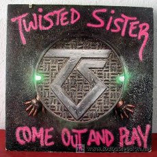 Discos de vinilo: TWISTED SISTER ( COME OUT AND PLAY ) NEW YORK-1985 LP33. Lote 5186470
