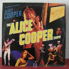 Discos de vinilo: ALICE COOPER IN THE ALICE COOPER SHOW USA-1977 LP33. Lote 5186539