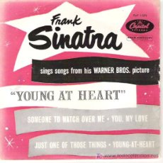 Discos de vinilo: FRANK SINATRA - YOUNG AT HEART / SOMEONE TO WATCH OVER ME / JUST ONE OF THOSE THINGS /. Lote 5998508