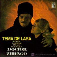 Discos de vinilo: BSO DOCTOR ZHIVAGO EP 1966 SPAIN. Lote 5192575