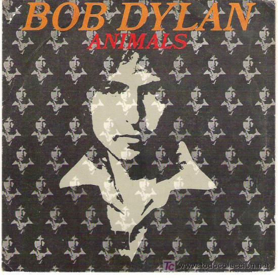 BOB DYLAND - ANIMALS / MAN GAVE NAMES ALL THE ANIMALS PROMOCIONAL (Música - Discos - Singles Vinilo - Country y Folk)