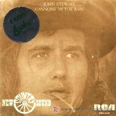 Discos de vinilo: JOHN STEWART ··· CANNONS IN THE RAIN / LADY AND THE OUTLAW - (SINGLE 45 RPM). Lote 66131798
