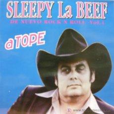 Disques de vinyle: SLEEPY LABEEF - A TOPE LP EDITADO POR BARSA PROMOCIONES EN 1993. Lote 189623671