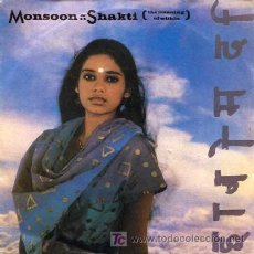 Discos de vinilo: MONSOON ··· SHAKTI (THE MEANING OF WITHIN) / AND I YOU - (SINGLE 45 RPM). Lote 223706003
