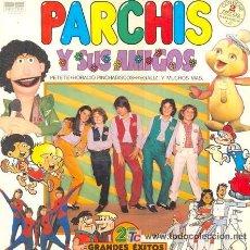 Discos de vinilo: DOBLE LP 'PARCHÍS Y SUS AMIGOS'. 25 TEMAS. CON PETETE, HORACIO PINCHADISCOS, REGALIZ, ETC.. Lote 24589921
