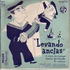 Discos de vinilo: BANDA DE LA REAL MARINA HOLANDESA EPDIRCAPITAN GUSBERT SPA PHILIPS 422007 PE. Lote 15080755